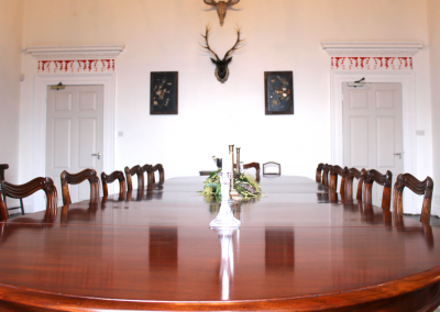 The DIning Room can double as a boardroom
