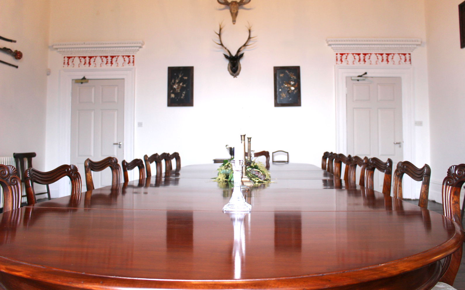 The dining room can double as a boardroom orlagh country house orlagh private house and estate for hire dublin location weddings and special events dzzzfo